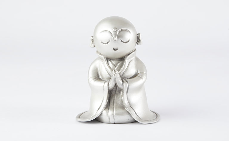 手元供養地蔵-銀